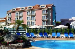 hotel canelas Portonovo